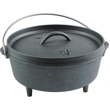 Lodge Logic Cast Iron Camp Dutch Ovens