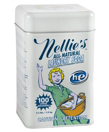 Nellie's All-Natural Laundry Soda for 100 Loads