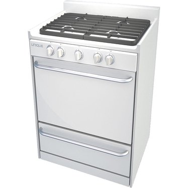 "Unique Gas Ranges - 24"" White"