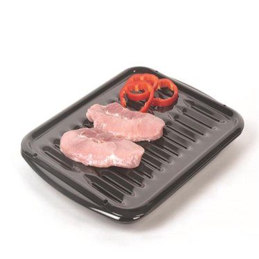 2-Piece Porcelain Broiler Pan