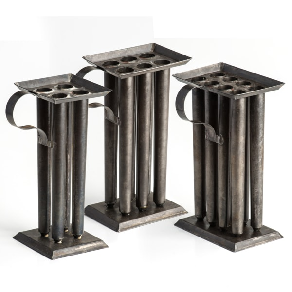 Tin Candle Molds for Candlemaking