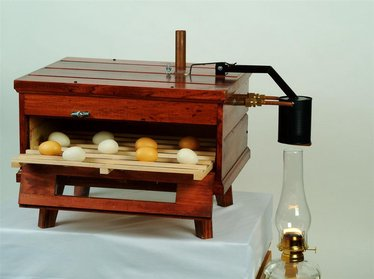 Kerosene-Powered Chicken Egg Incubator