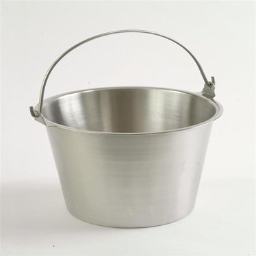 Pure Stainless Steel Pails