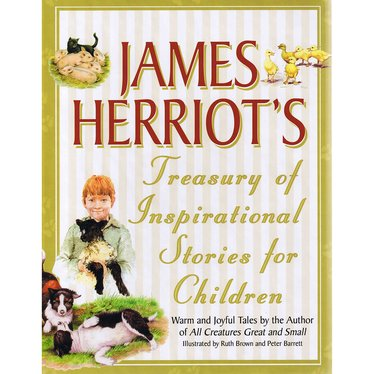 James Herriot Hardcover Treasury of Inspirational Stories for Children Book
