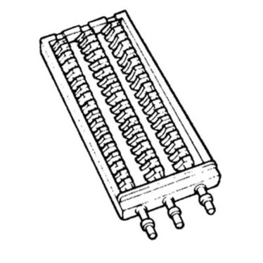 Coal/Wood grate for Oval Wood Cookstove