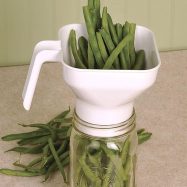 Wide-Mouth Square Canning Funnel