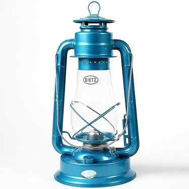 Dietz Blizzard Hurricane Oil Lantern - Blue