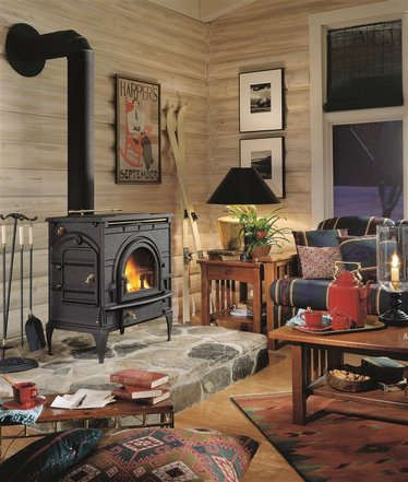 Dutchwest Catalytic Wood Heat Stove - Dutchwest Catalytic Wood Heat Stove, Heatstoves - Lehman's