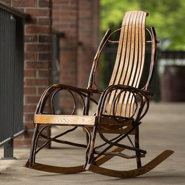 Tremendous Pennsylvania Amish Rocker Beatyapartments Chair Design Images Beatyapartmentscom