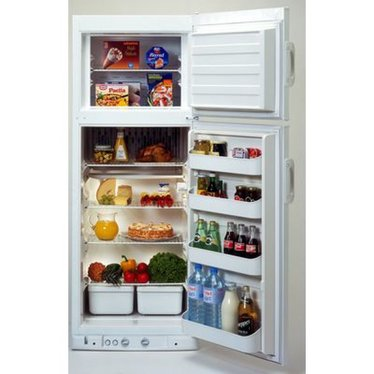Dometic Natural Gas Refrigerator
