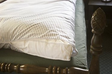Cotton Ticking Featherbed Covers