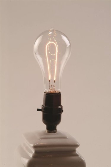 Thomas Edison Carbon Filament Bulb Electric Conversion