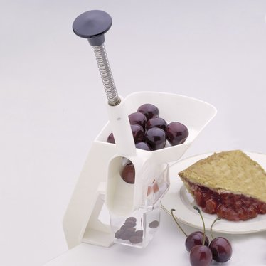 Clamp-On Cherry Pitter