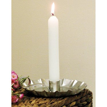 Tin Candle Holder for taper candles
