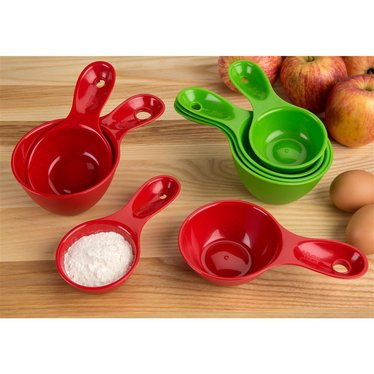 Recycled Measuring Cups by Preserve