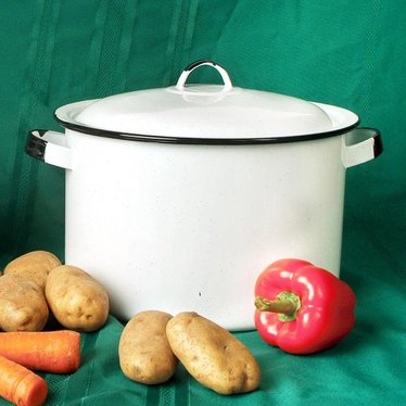 White Stock Pot