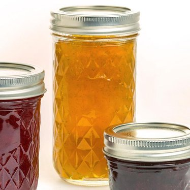 Ball Regular-Mouth Quilted Jelly Jars 12 oz.