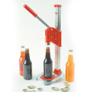 Single Lever Bottle Capper