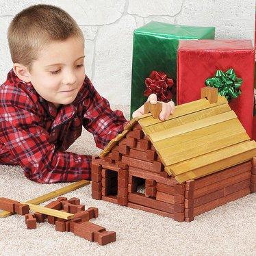 Wooden Log Sets Indoor Play Lehman S