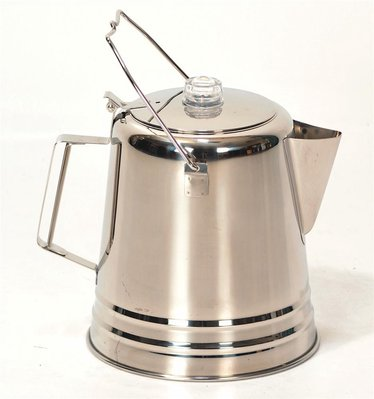 Giant Stainless Steel Coffee Pot Camping Lehman s