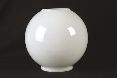 Opal Ball Oil Lamp Shades