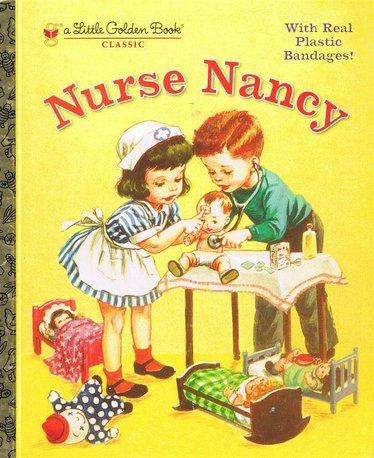 Nurse Nancy Golden Book