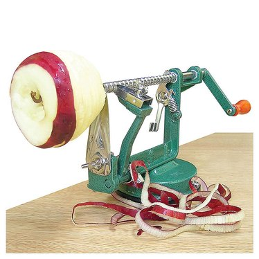 Apple Express Suction Cup Peeler
