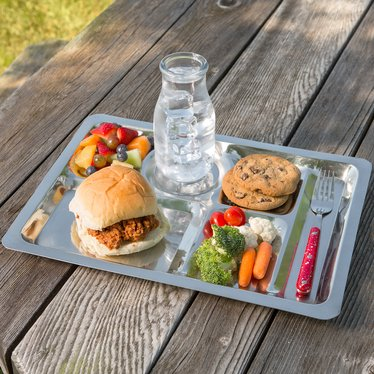 Stainless Steel Picnic Tray
