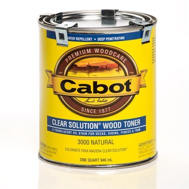 Cabot Clear Solution Wood Toner