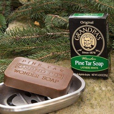 Grandpa's Pine Tar Soap - Case of 25 Bars