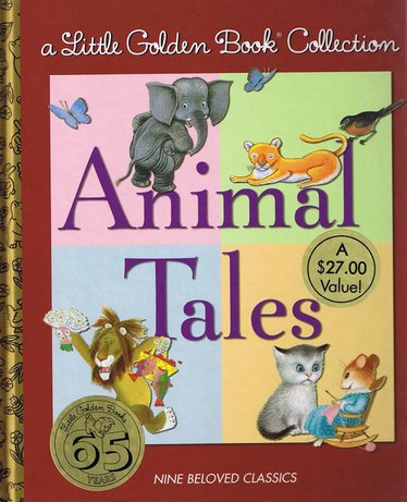 Little Golden Books Animal Tales