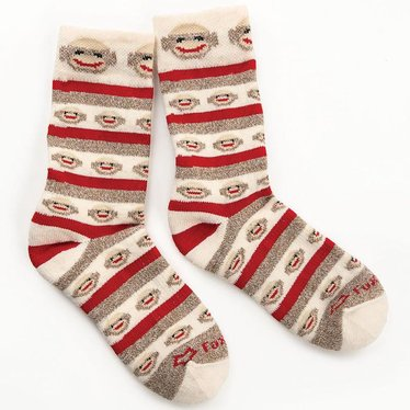 Sock Monkey Socks for Women