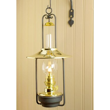 Lamp Charmante Hanging Wall Oil Lamp, Wall Lamps - Lehman s