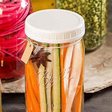 Plastic Mason Jar Lids For Home Canning Wide Mouth Lehmans