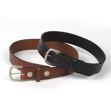 Amish Leather Belts - 1 1/4 in Wide
