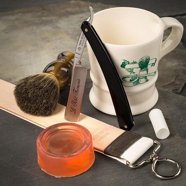 Straight Shaving Razor Beginner's Gift Set