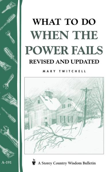 What to do When the Power Fails Book
