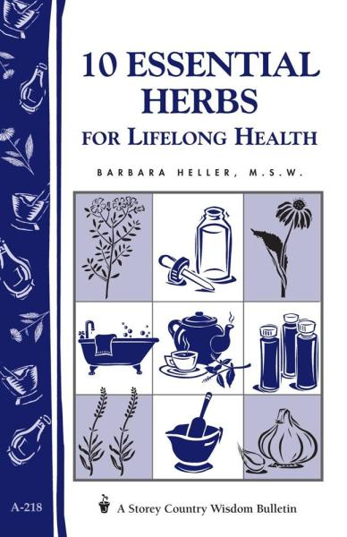 10 Essential Herbs for Lifelong Health Book
