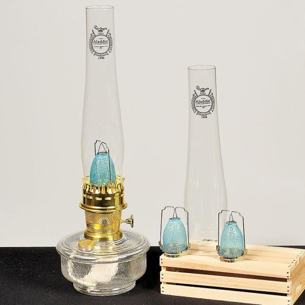 Aladdin genie iii oil lamp with 3 year parts kit