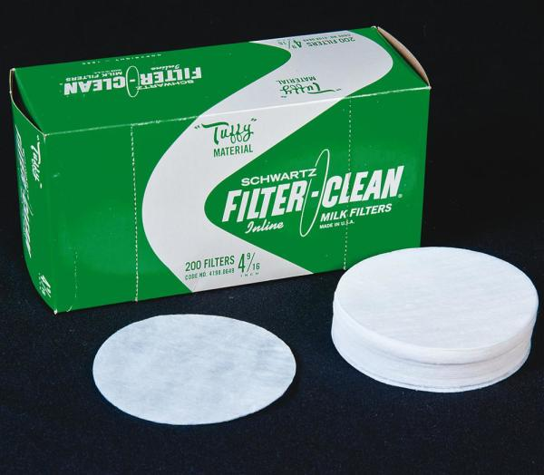 Fast-Flo Filter Disks for Small Milk Strainers