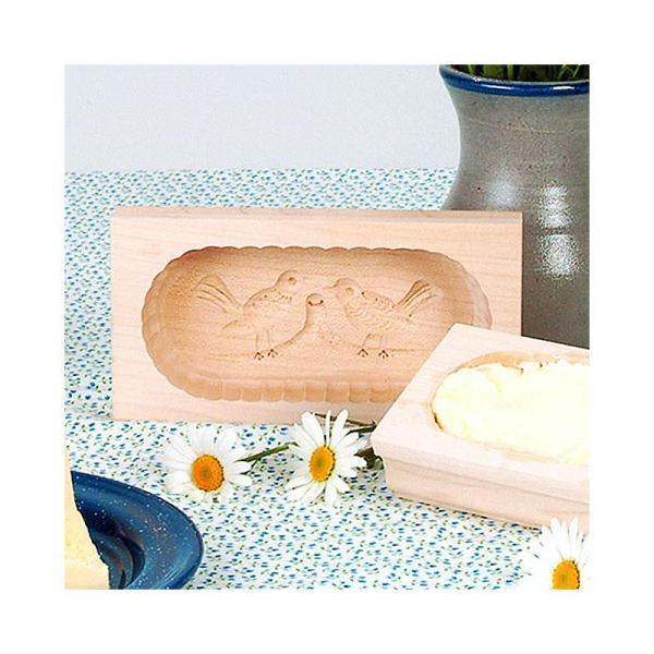 Medium Carved Rectangular Butter Molds from Germany