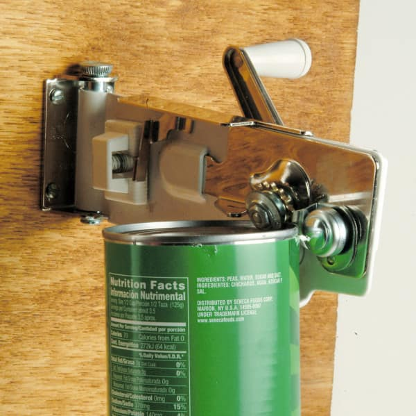 Wall-Mounted Can Opener