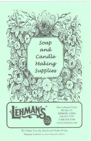 Candle-Making and Soap-Making Supply Catalog