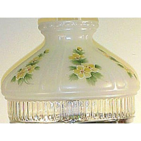 Aladdin Buttercups Glass Oil Lamp Shade