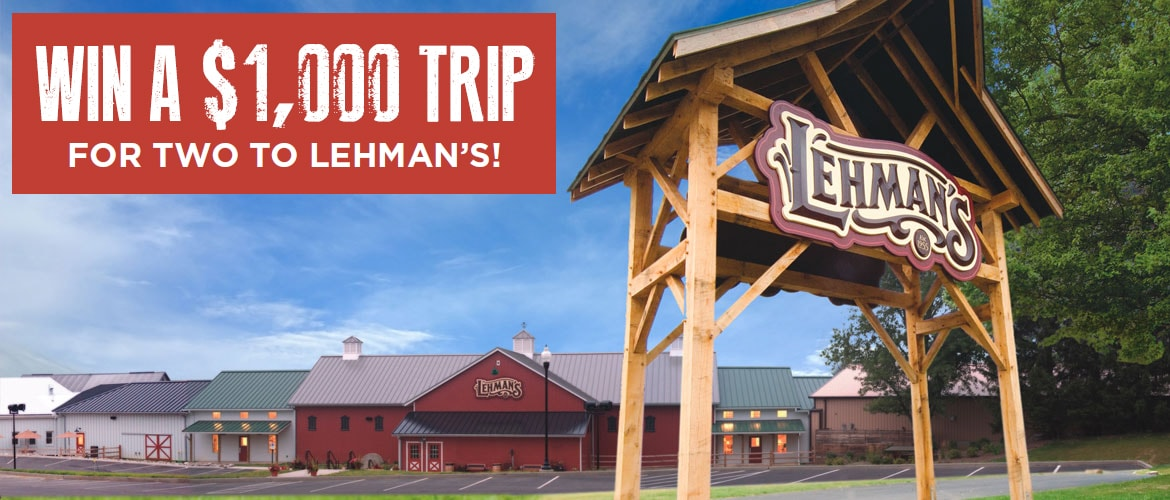 Win a trip for two to Ohio's Amish Country