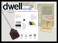 Dwell Magazine October 2011