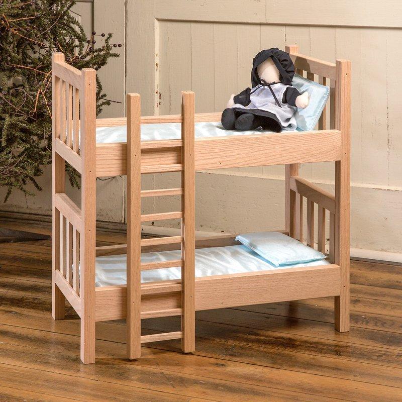 Eli Mattie Doll Bunk Beds Wooden Toys Lehman S