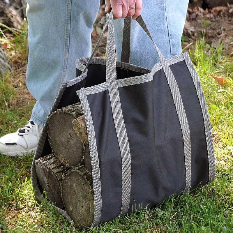 canvas firewood carriers - Firewood Carrier