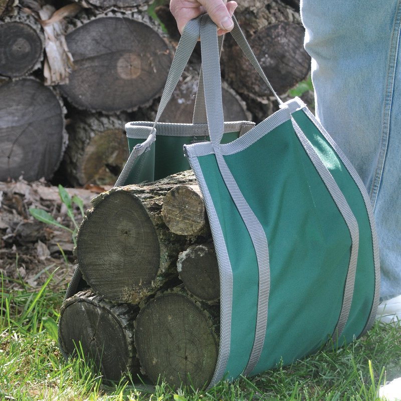 Canvas Firewood Carriers  - $24.95 - BUY NOW
