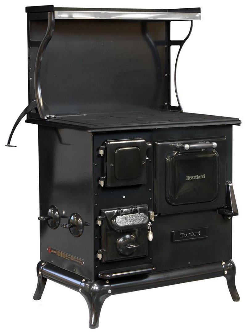 Heartland Blackwood Woodburning Cookstove - Wood Burning Cookstoves Lehman's